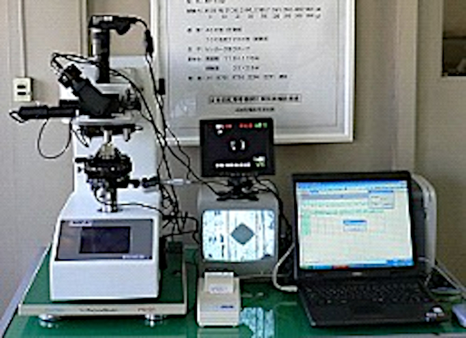 微小硬さ試験機